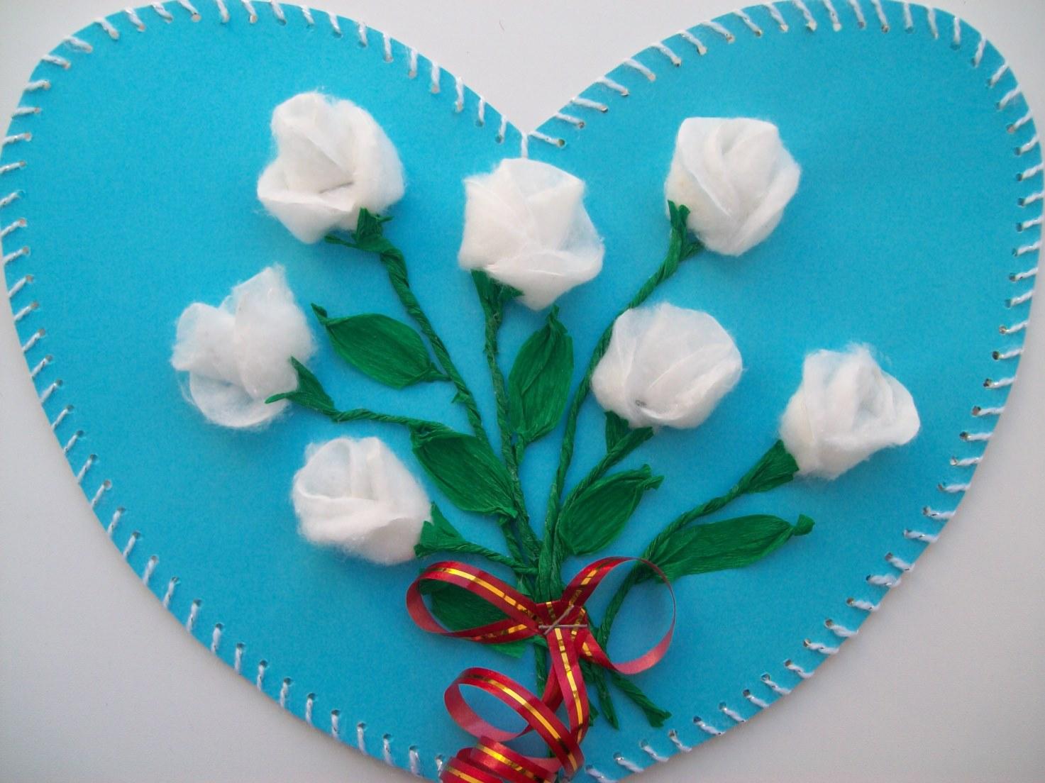 Сделать из дисков своими руками цветы 12