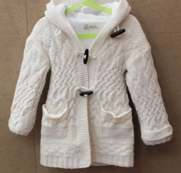 пальто детское спицами на девочек 6лет подробное описание и схема