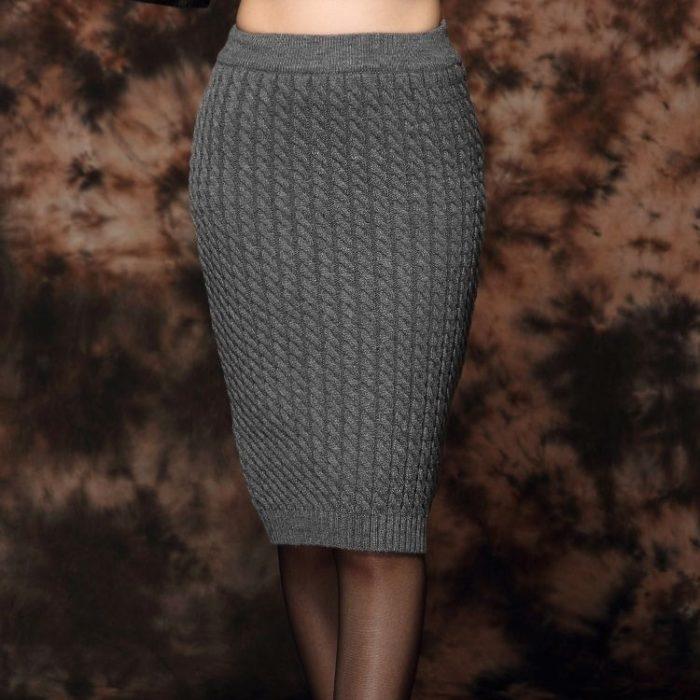 Схема вязания спицами юбочки 201