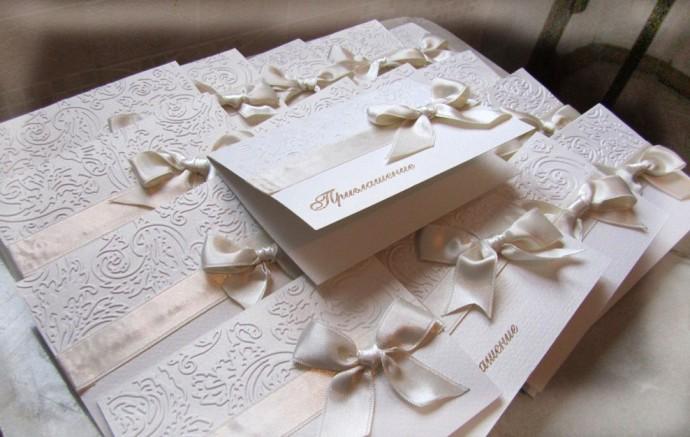 Сделать своими руками приглашение на свадьбу