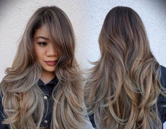 Прически лесенкой на длинные волосы
