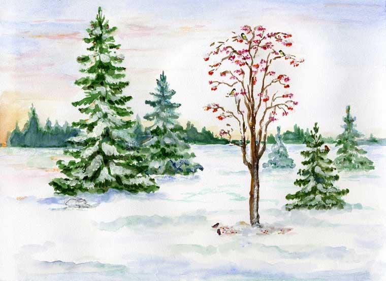 Потрясающие фотографии зимних пейзажей