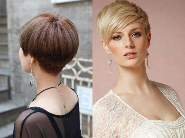 Стрижки для редких волос для объема
