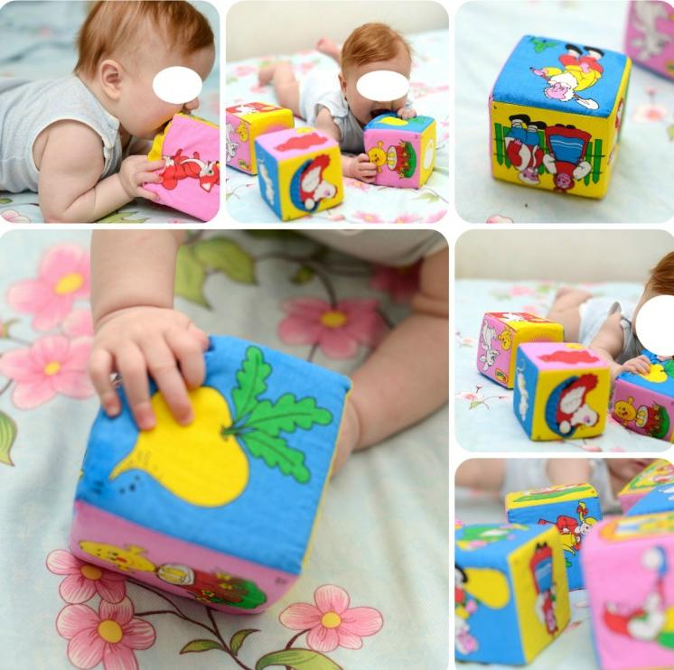 Кубик для новорожденных своими руками 56