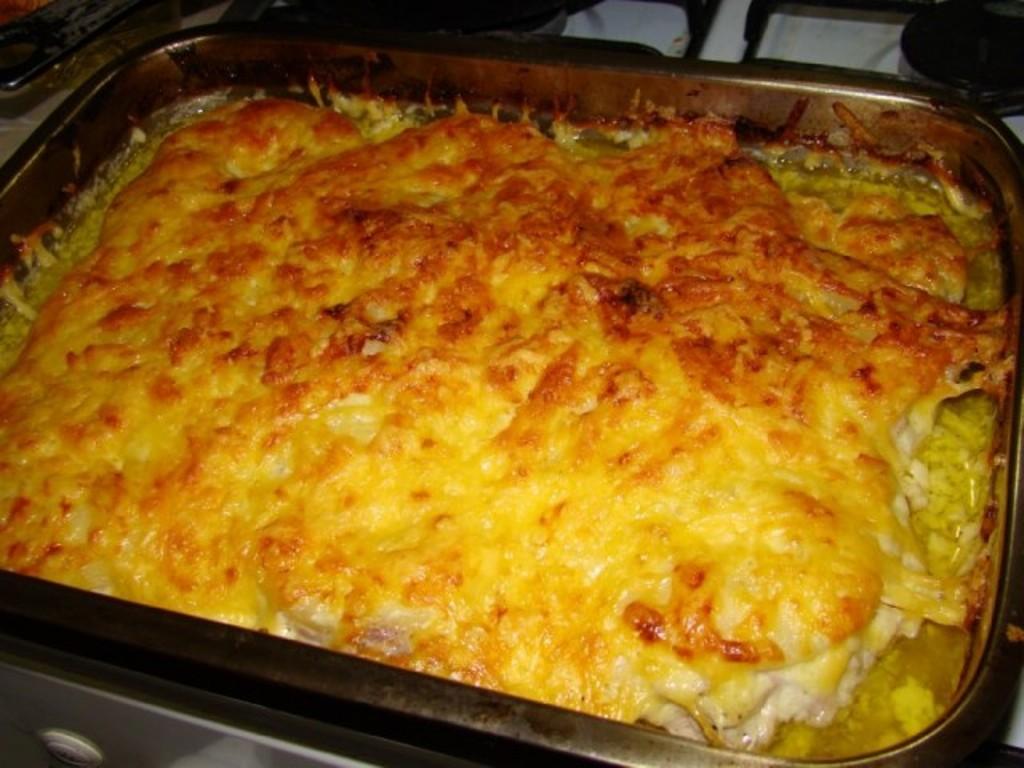филе куриное по-французски с картошкой в духовке рецепт