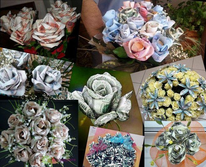 Как оформить букет из роз  пошаговое фото 142