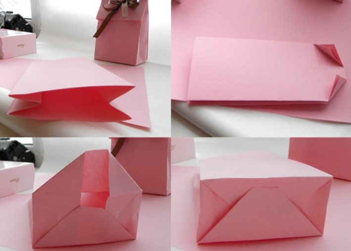 Бумажного пакетика своими руками