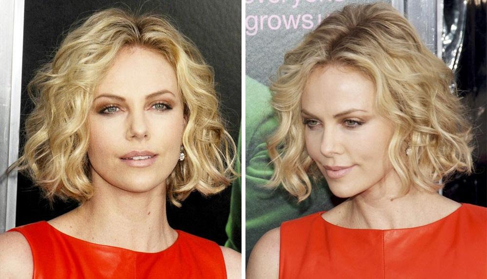 кудрявые волосы смотрятся на женщинах до 40 лет