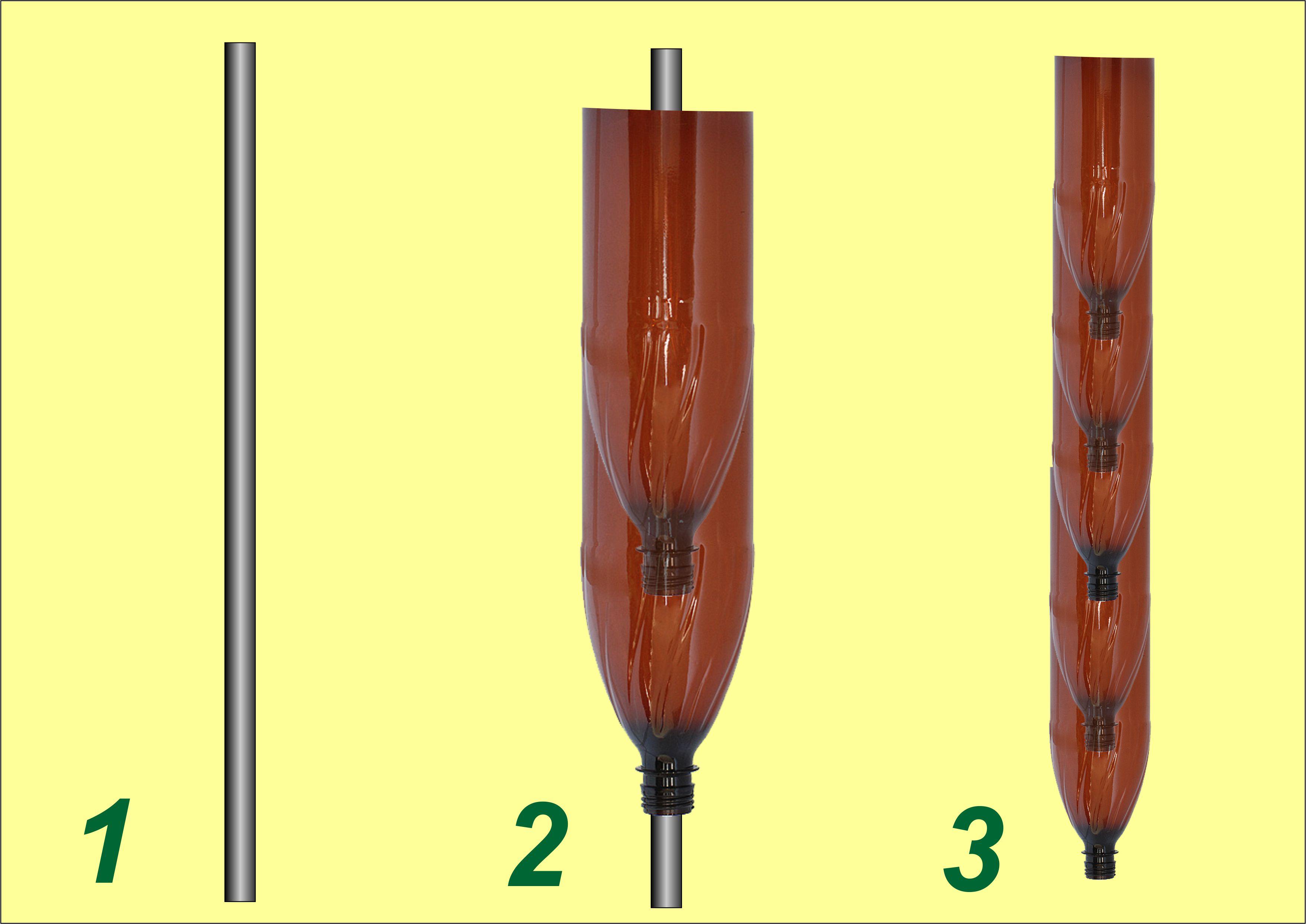 Как сделать пальму из пластиковых бутылок: пошаговое 94