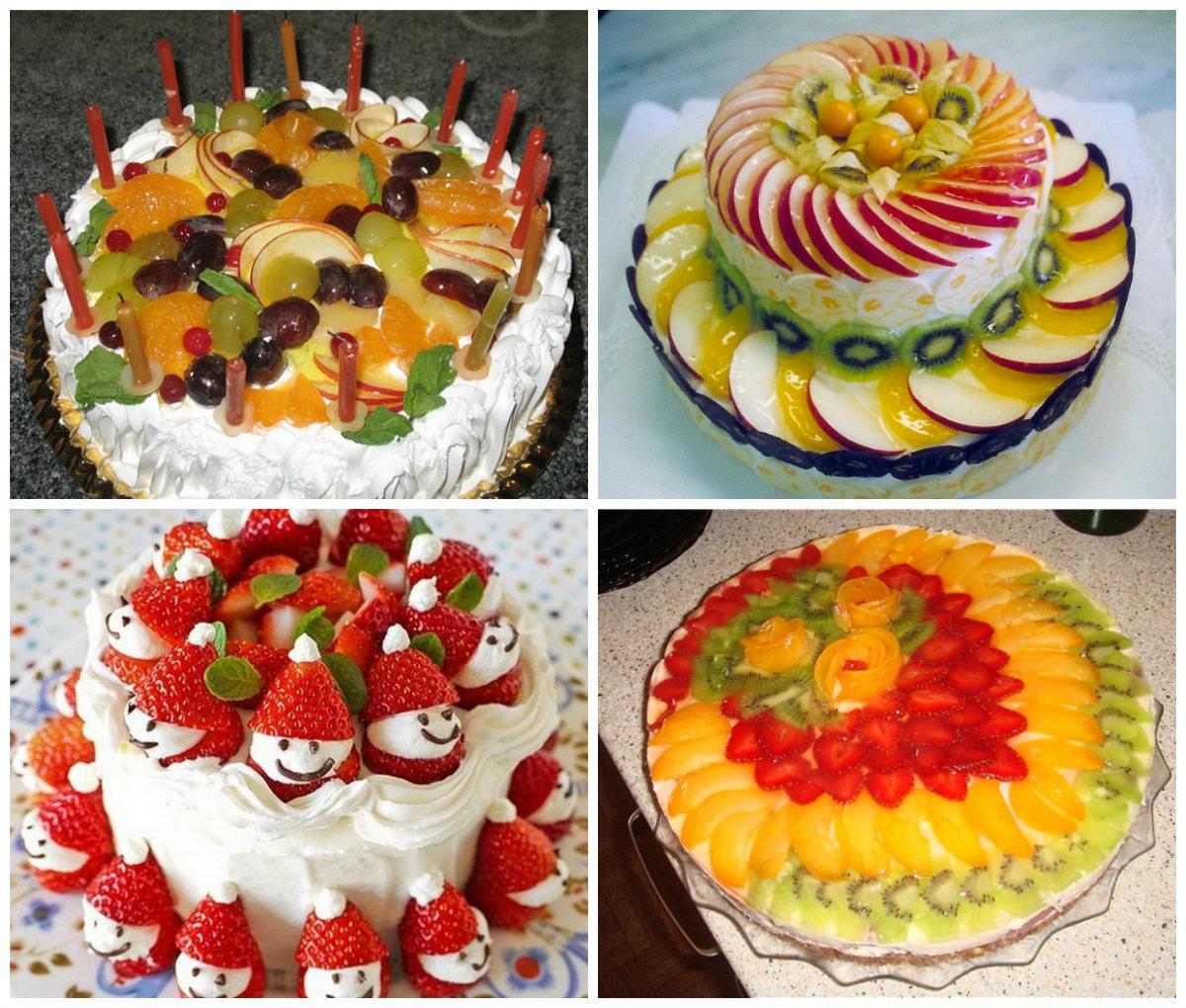 Украсить торт ягодами своими руками фото фото 195