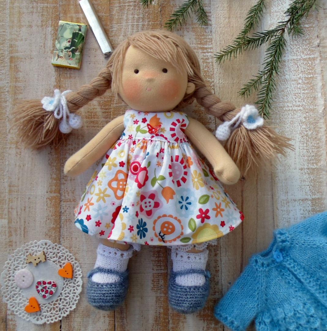 Сшитые из ткани куклы 27