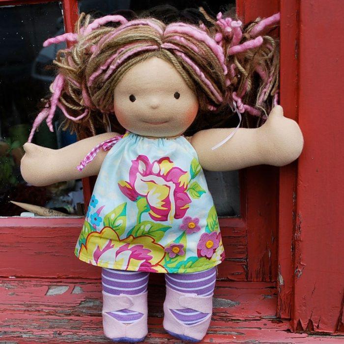 Сшить куклу своими руками для дочки 25