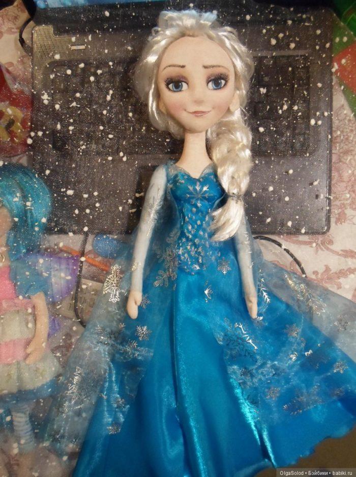 Кукла своими руками кукла эльза