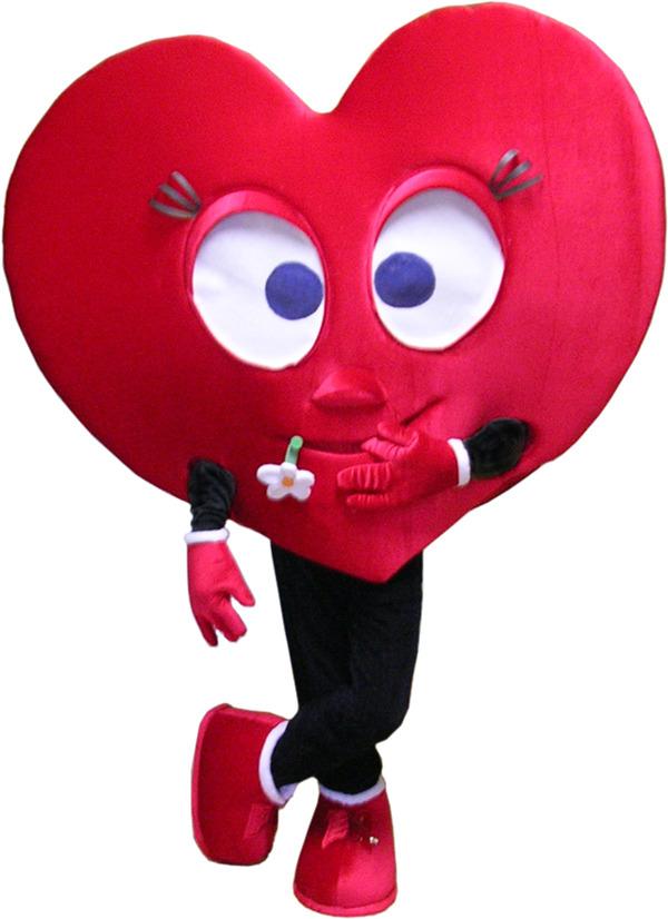 Как сделать ростовую куклу сердце своими руками