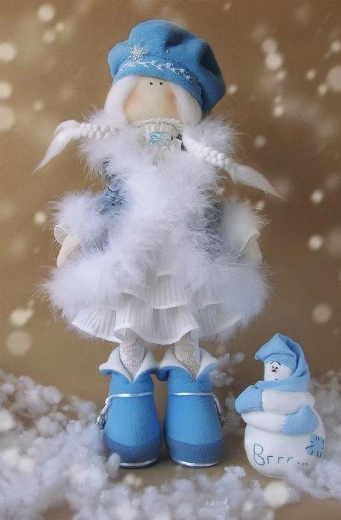 Снегурочка под своими руками