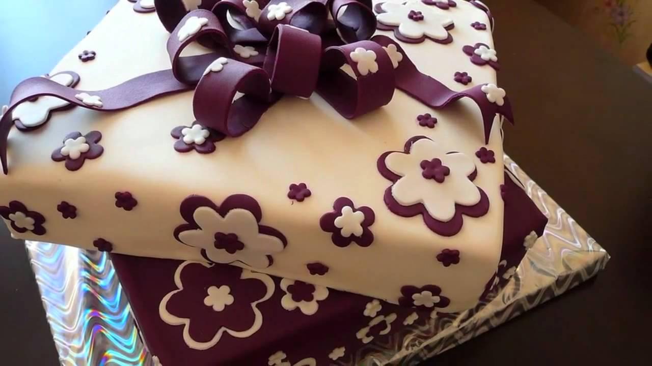 Торт украшенный мастикой на день рождения