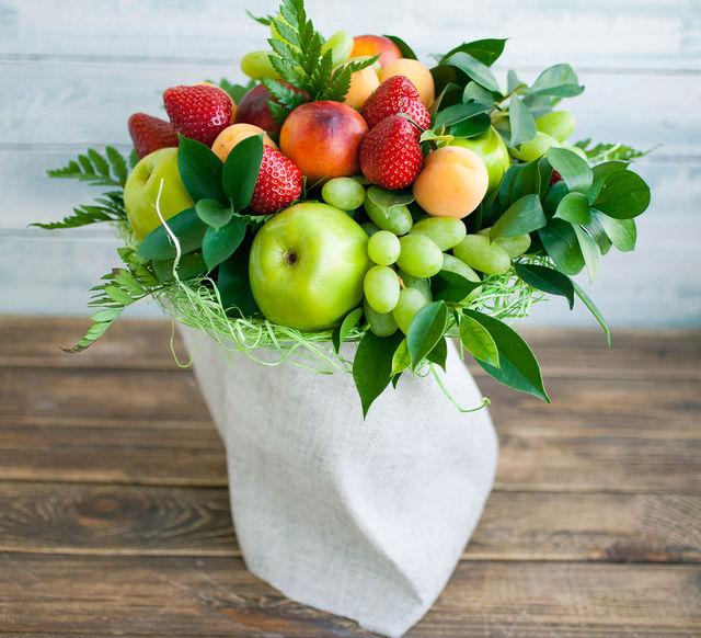 Фруктовые вазы из фруктов своими руками