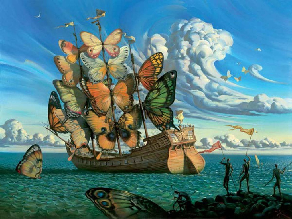 the painting works of salvador dal and its influence in the arts world Free salvador dali papers, essays, and research papers.