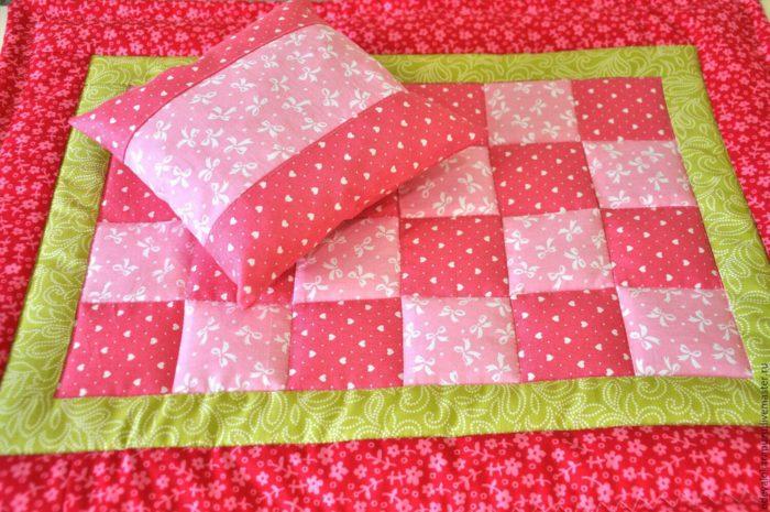 Как сшить детское одеяло 32