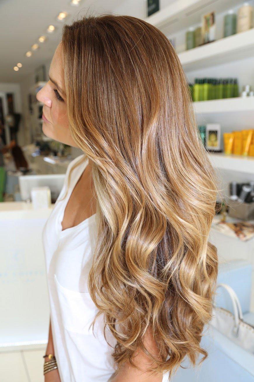 Выгорает краска на волосах
