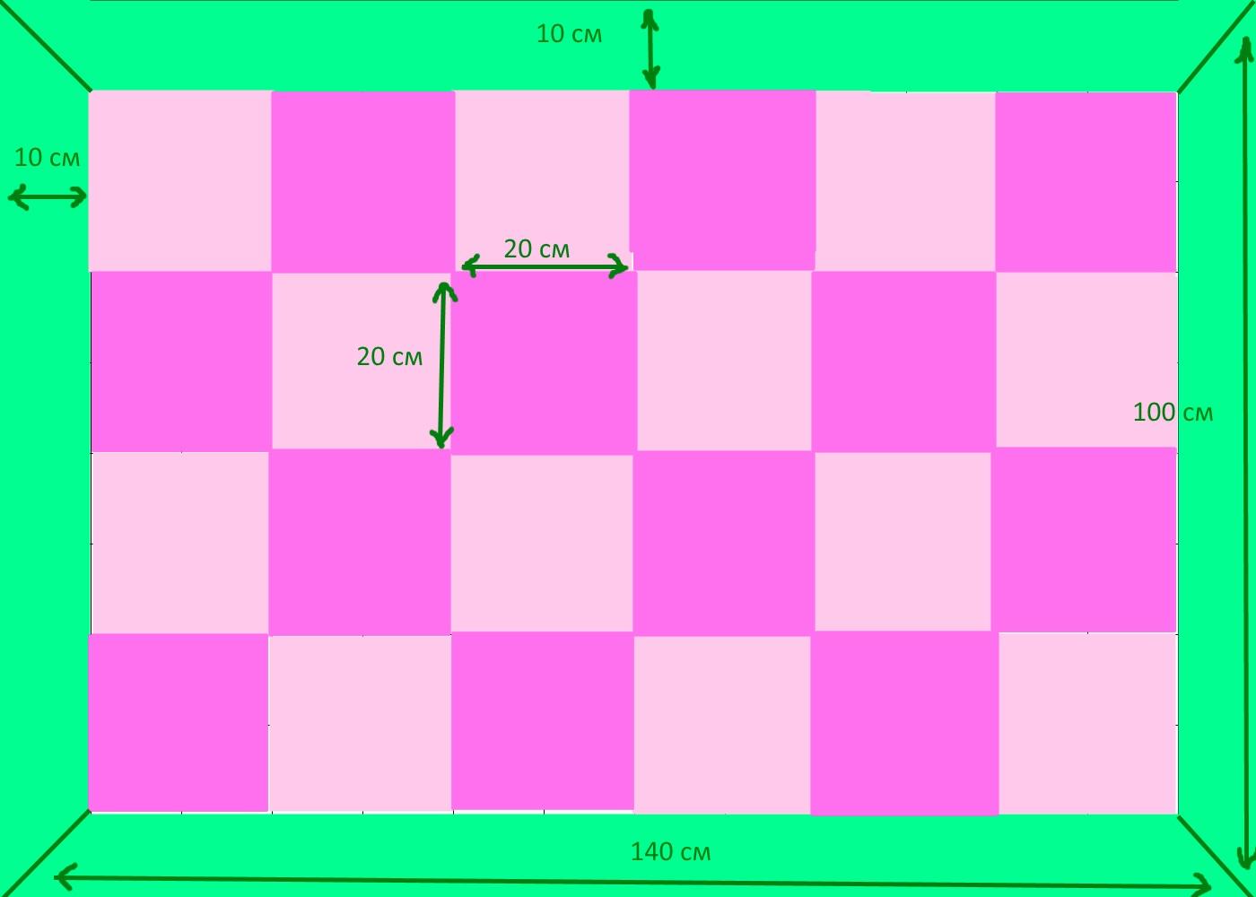 Как сшить лоскутное покрывало из квадратов