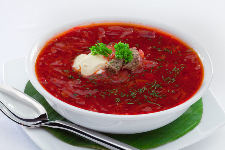 технологическая карта суп свекольник со сметаной в доу