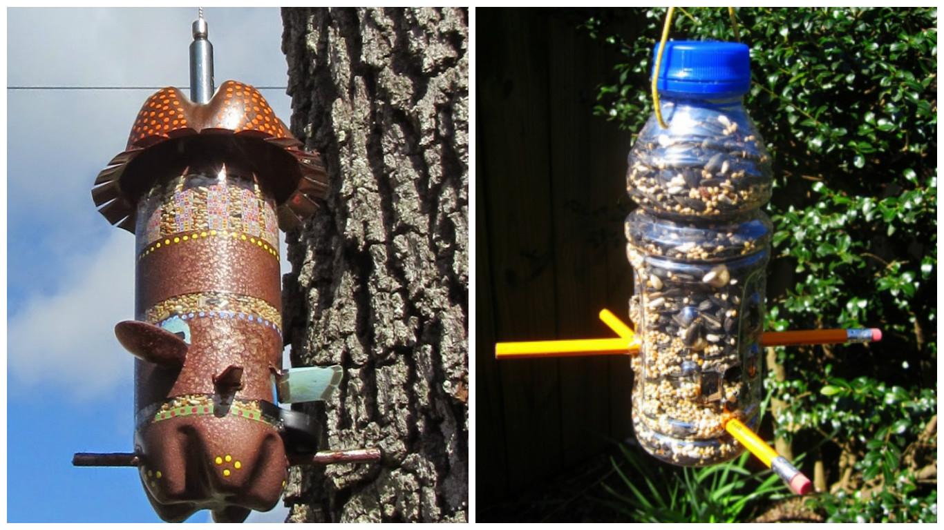 Кормушки для кур из 5 литровой пластиковой бутылки своими руками фото 463