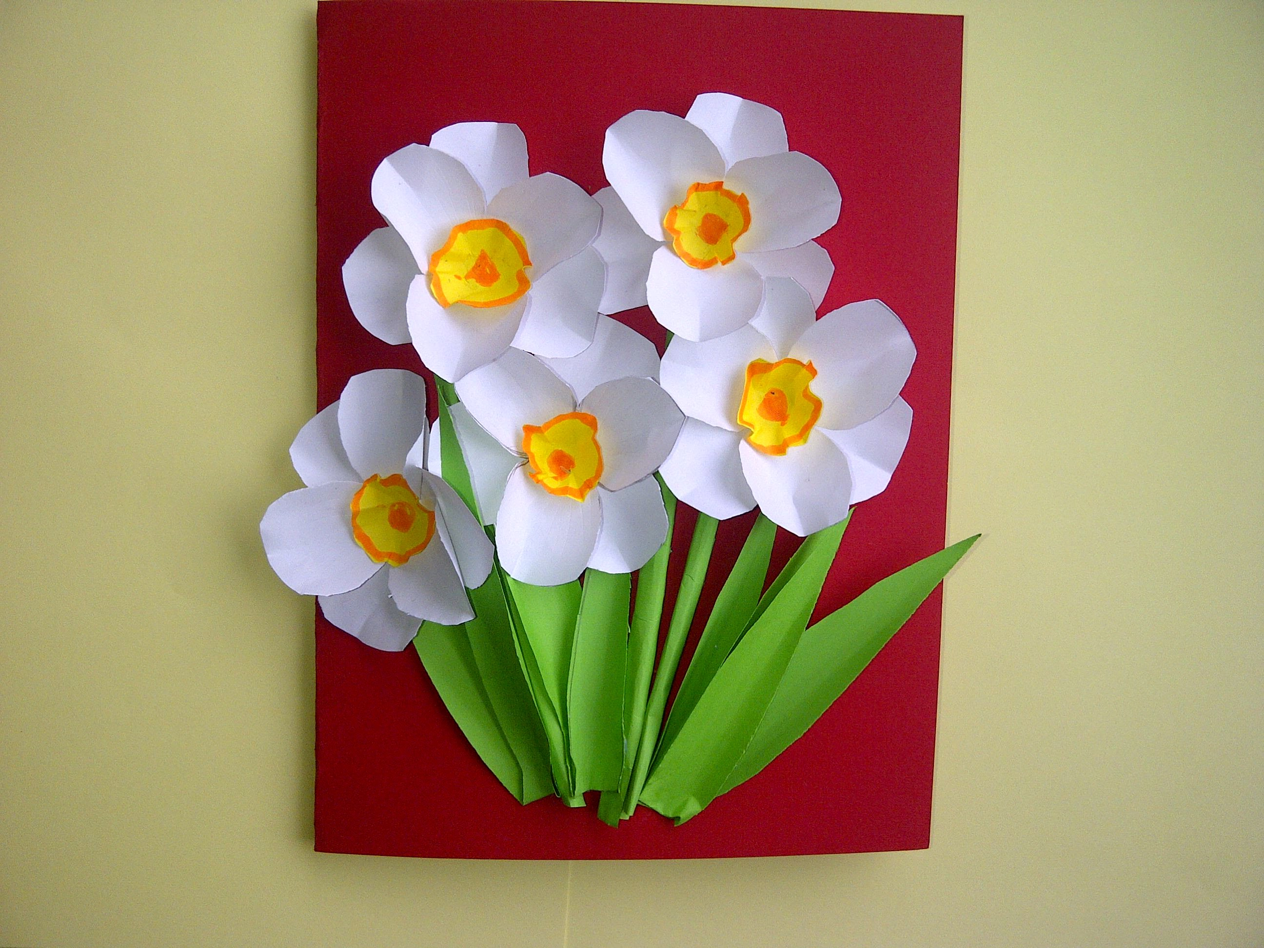 Делаем цветок своими руками фото 942