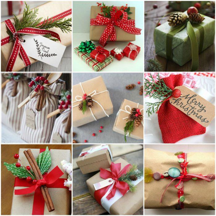 Как красиво оформлять подарки 135