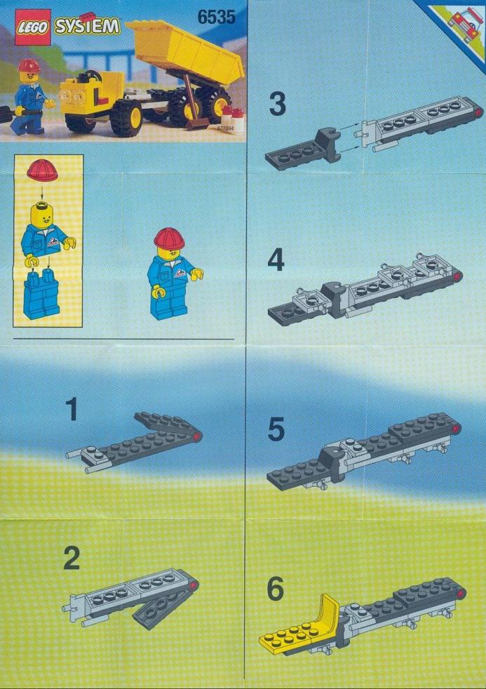 Схема грузовика из лего