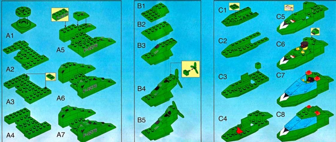 Военные самолеты из лего своими руками