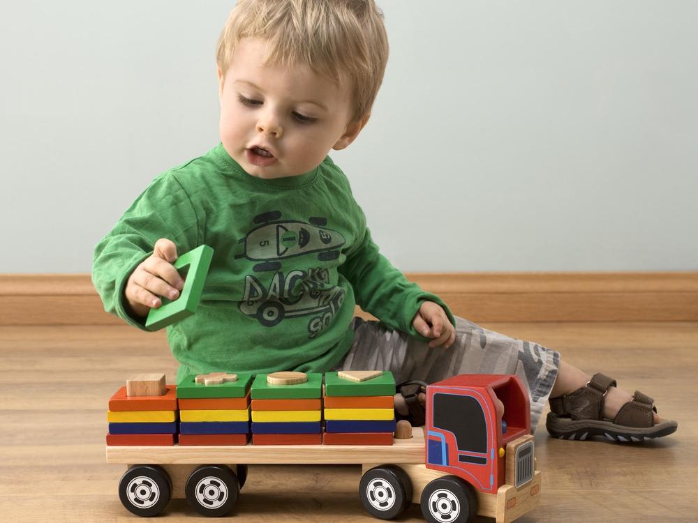 Подарки трехлетнему ребенку