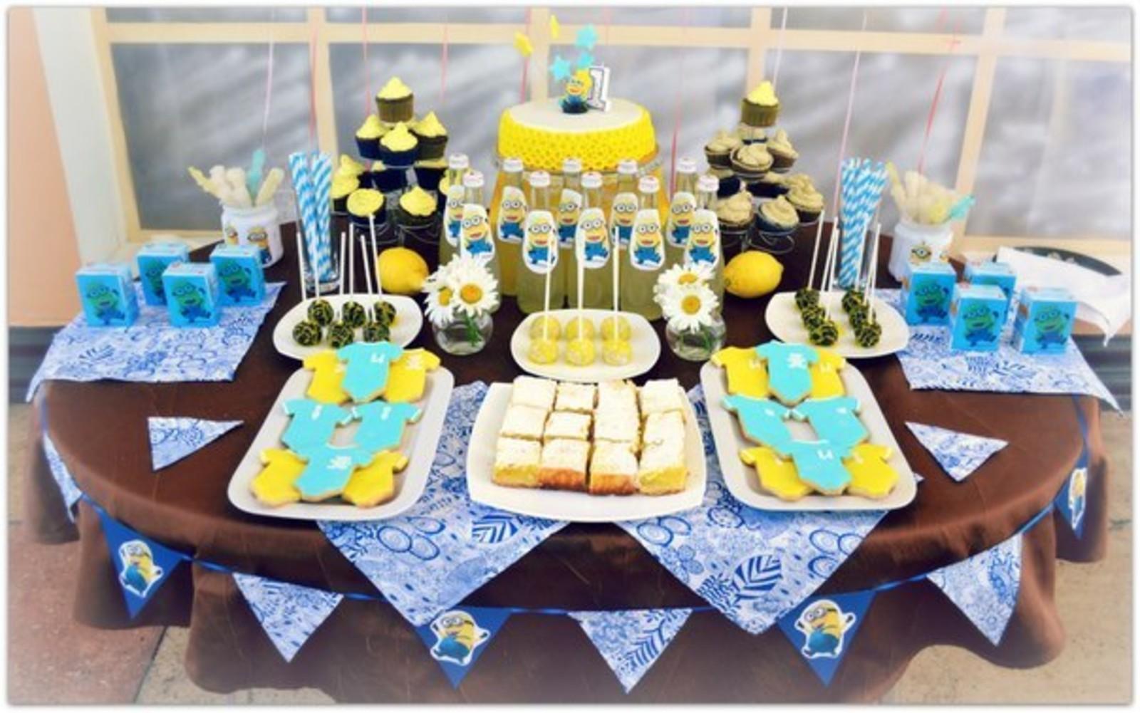 детский стол на день рождения меню с фото на