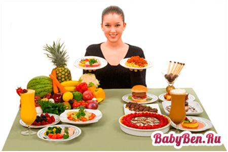 питание для беременных на ранних сроках