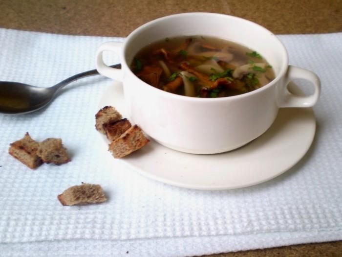 Грибной Бульон На Диете. Готовим диетический суп для похудения с грибами