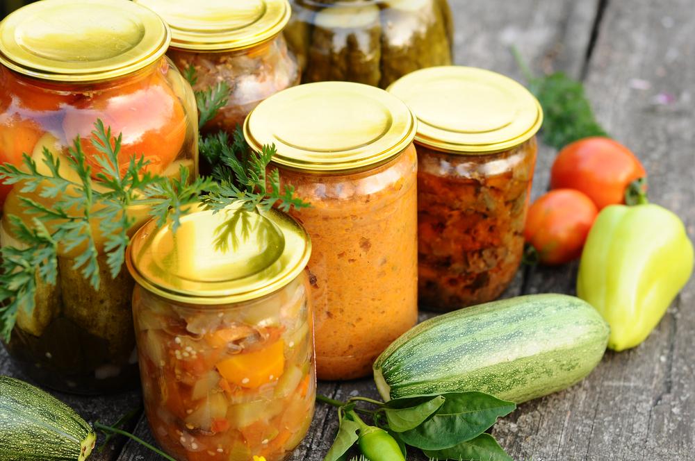 заготовка салата из кабачков на зиму