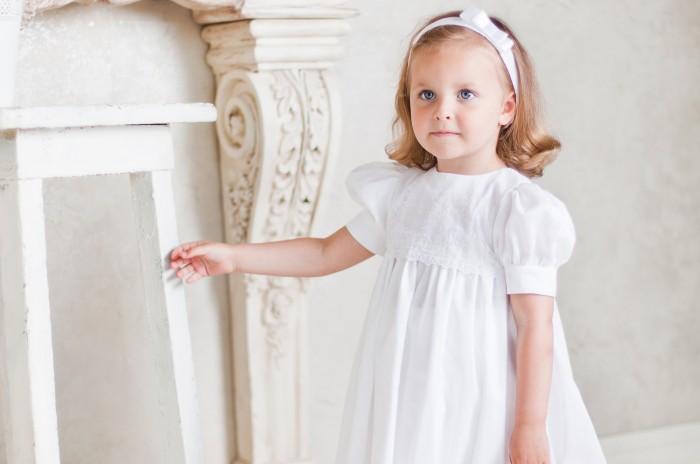 Платье для крестин для девочки постарше