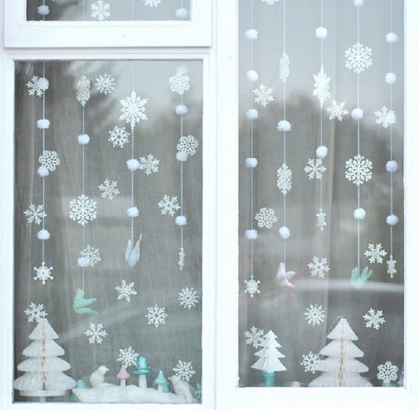 Создайте новогоднее настроение с помощью бумаги