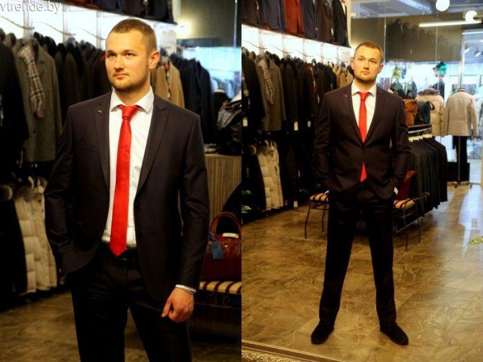 разные цвета галстуков под белую рубашку, фото 1