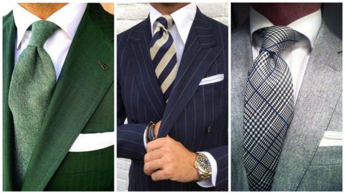 разные цвета галстуков под белую рубашку, фото 3