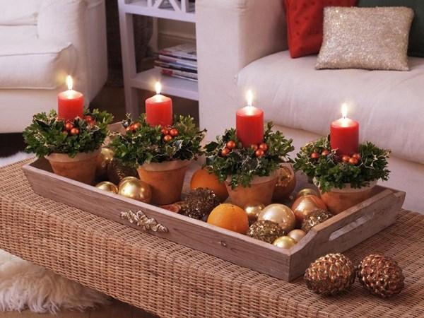 Прекрасный новогодний декор