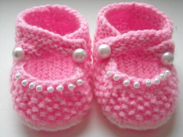 Пинетки-туфельки для принцессы