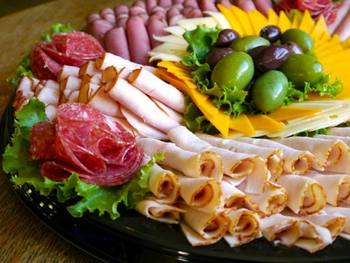 нарезки на праздничный стол красивые в домашних условиях мясные