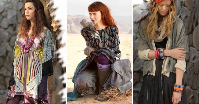 вязание в бохо стиле вязаное спицами пальто кардиган юбка на