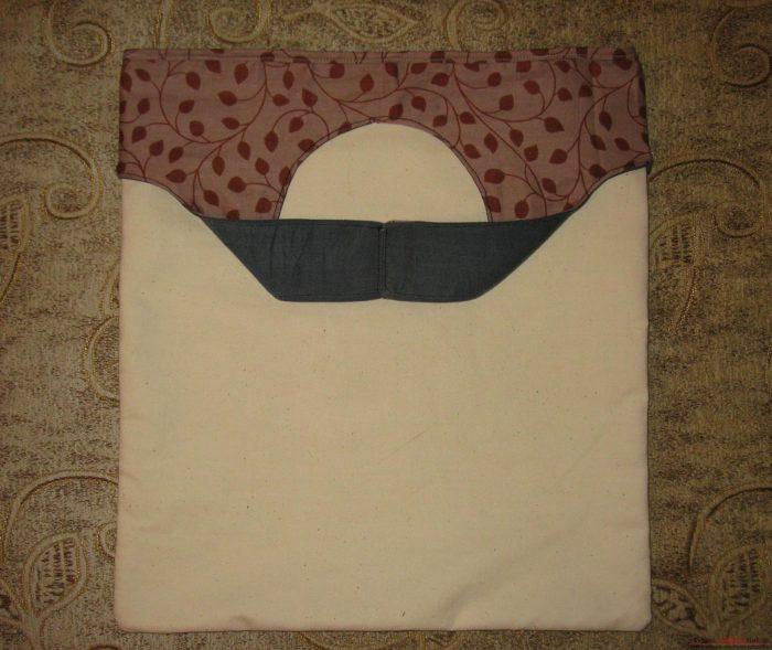 готовый клатч-пакет своими руками