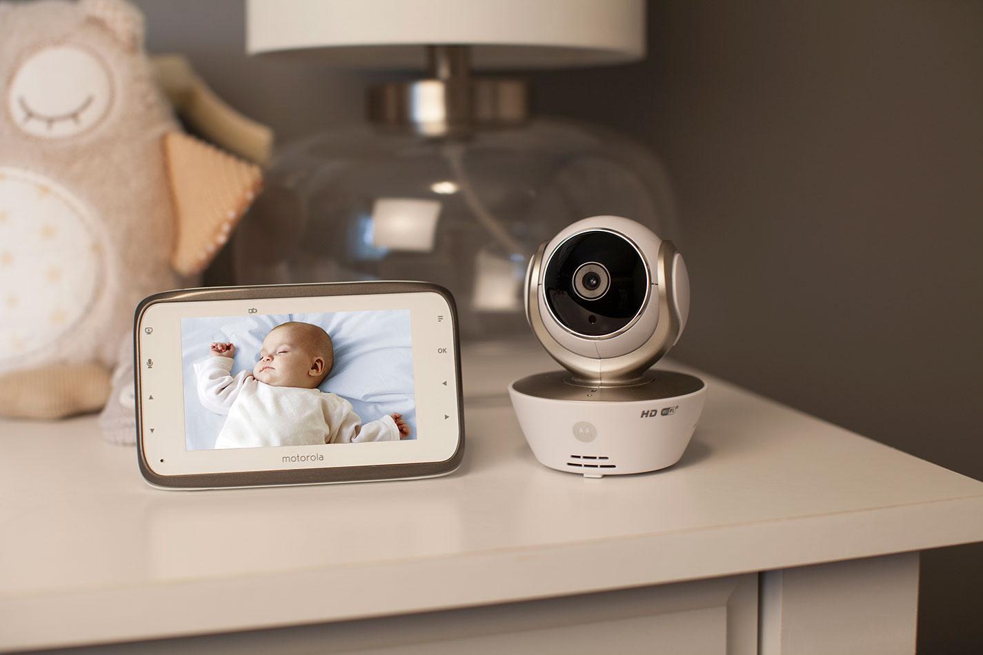 алиэкспресс видеоняня с ночным видением беспроводная Smart Baby