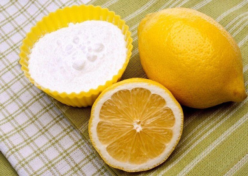 помощники вашего организма - лимон и сода
