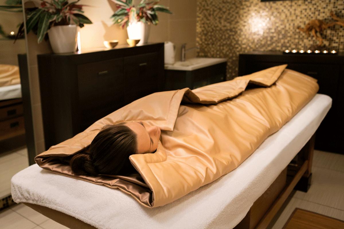 Одна из задач обертывания - полное расслабление тела