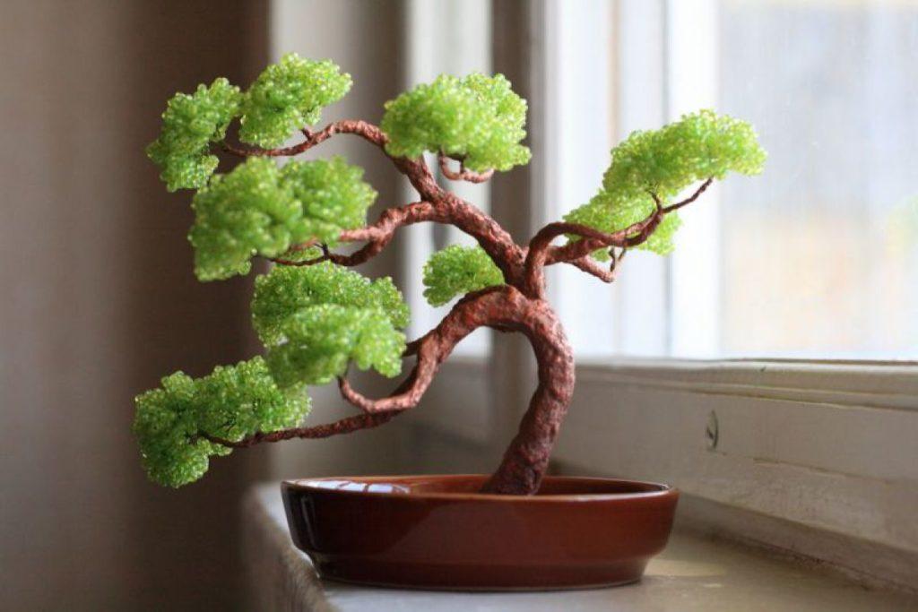 Схема дерево из бисера для начинающих.