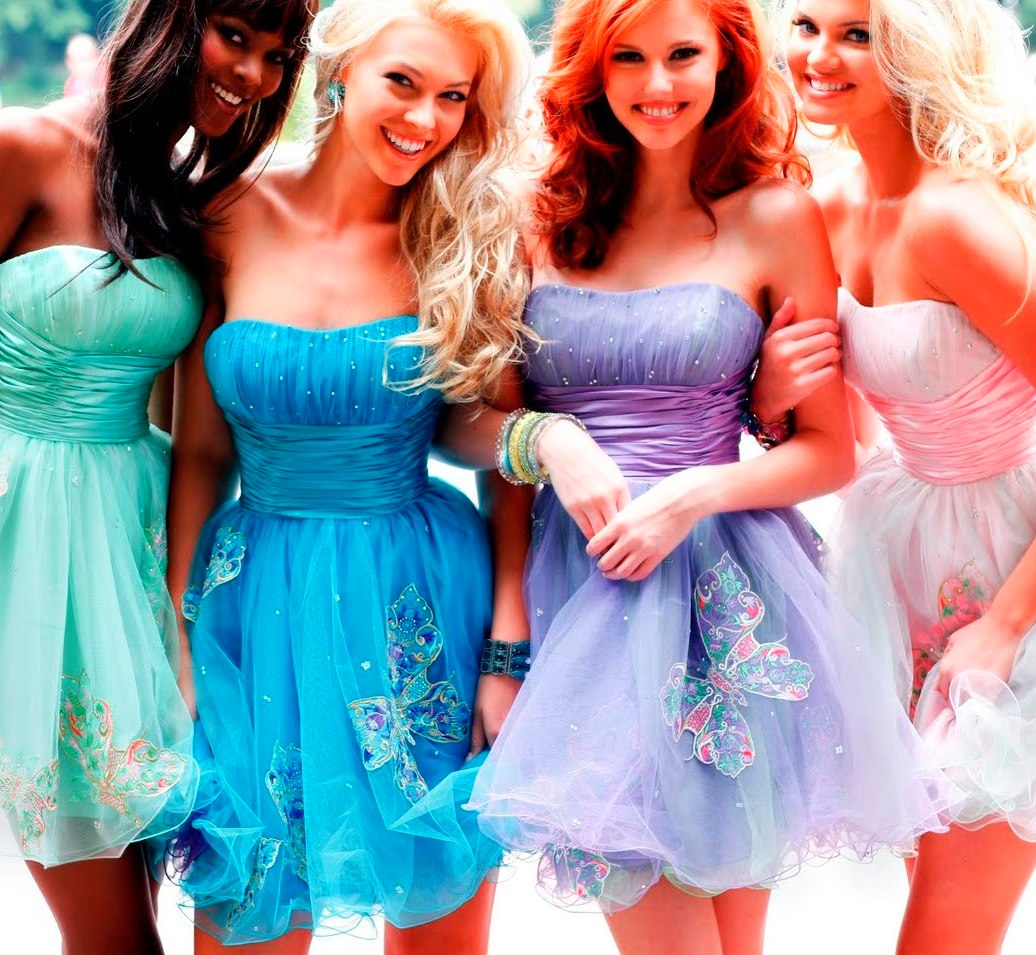 картинка три платья всегда распространялись